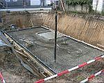 Foto der Baugrube