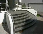 Foto der Treppe